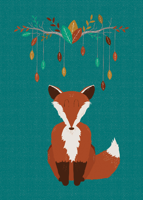 illustratie-ginger-animals-fox